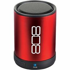808 CANZ  BLUETOOTH WIRELESS SPEAKER RED For Apple iPhone 8 / 8 Plus 7 / 7 Plus