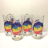 4 Vintage Diet Pepsi Uh-Huh You Got The Right One Baby Glasses. Set Of 4