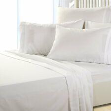 King Size Super Soft Deep Pocket (6) Piece Sheet Set Bed Sheets White Be