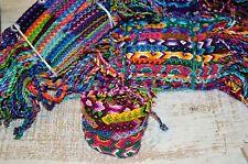Braccialetti dell'amicizia cotone wholesale ingrosso 25 tessuto Fair Trade Regali UK STOCK