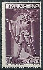 1930 REGNO POSTA AEREA FERRUCCI 5 LIRE MNH ** - ED1061
