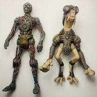 "Star Wars 1998 Hasbro CP30 And 2000 Hasbro Sebulla 3.75"" Action Figure Lot"