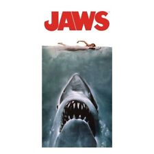 Jaws movie poster beach/bath towel~Spielberg~Great White Shark~Benchley~New