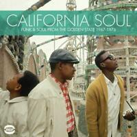 CALIFORNIA SOUL Funk & Soul From The Golden State 1967-76 NEW & SEALED CD (BGP)