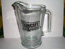 Jerry Springer Uncut Raw and Original Glass Beer Pitcher Mint