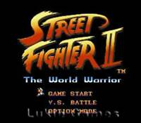 Street Fighter II 2 - SNES Super Nintendo Game