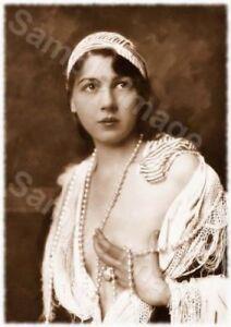 Vintage 123 1920's Erotic Female Nude Sepia Retro Art PHOTO REPRINT A4 A3 or A2