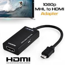 Universal MHL Micro USB to HDMI Cable 1080P HD TV Adapter for Android Phones AUS
