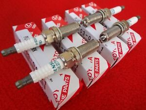 4 Denso Spark Plugs for Subaru BRZ Scion FR-S Toyota T86 13-18 OEM Made in Japan