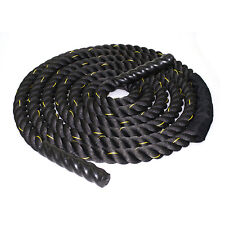 "Battle Rope 1.5"" 30ft Fitness Undulation Excercise Rope Nylon Protector included"
