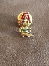 Shriners Signed KLITZNER Man With Hat Tassel And Sword Hat Pin