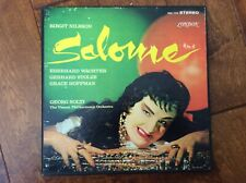 STRAUSS Salome GEORGE SOLTI BIRGIT NILSSON LONDON STEREO 2 LP BOX VINYL~VG COND