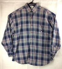 Vintage Walt Disney World Mickey Mouse Button Down Mens Shirt Size L Long Sleeve