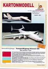 MDK-Verlag 4042-caja modelo-antonov an-225 Mrija - 1:100 - 88cm