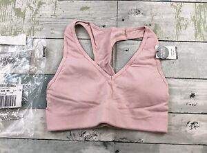 VICTORIA SECRET SPORT Ultimate Lightly Lined SPORT BRA XS Dusty Pink