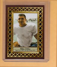 Mike Ditka '62 Chicago Bears rookie season, Fan Club serial numbered /300