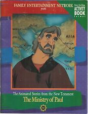 The Ministry of Paul Activity Book Animated Stories From the New testament new