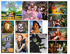 WIZARD OF OZ COLOR PHOTO-FRIDGE MAGNETS 12 IMAGES