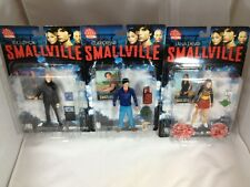 Smallville Superman Complete Set Clark Kent Lex Luthor Lana Lang DC Direct Toys