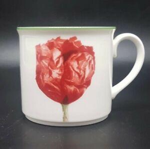 Villeroy & Boch Flora: Kaffeetasse / Tasse - Coquelicot - neu