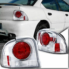 95-99 DODGE NEON HIGHLINE SPORT RED CHROME ALTEZZA TAIL BRAKE SIGNAL LIGHTS LAMP