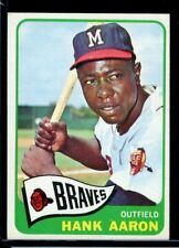 1965 Topps HANK AARON Braves #170 EXMT/NM
