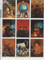 FANTASY ART OF JEFF EASLEY - Complete base set of 90 collectable cards! (ಠ_ಠ)