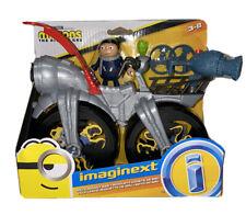 Imaginext Minions The Rise Of Gru - Gru's Rocket Bike Set Launcher NEW Toy