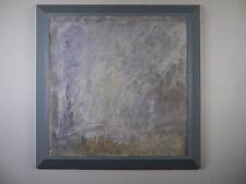 Charles Bujeau Abstraktes Bild Öl auf Papier