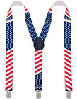 Suspenders - Patriotic - Stars and Stripes