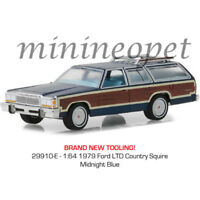 GREENLIGHT 29910 E ESTATE WAGONS 1979 FORD LTD COUNTRY SQUIRE 1/64 MIDNIGHT BLUE