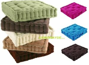 CHUNKY GARDEN / INDOOR DINING ARM CHAIR BOOSTER CUSHION COTTON THICK SEAT PAD