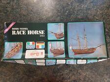 Sergal Roma 1/50 Bomb Vessel Race Horse 1754 Wooden Ship Great Condition Rare