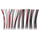 10pcs JST-XH 2.54mm Connector Extension Wire Cables 4inch for Rc 2s 3s 4s 5s 6s