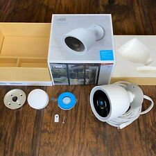 Google Nest - Model: NC4101US - Cam IQ Outdoor Wireless Security Camera 🔥