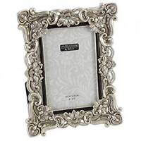 """Antique Silver Vintage Ornate Shabby Chic Picture Photo Frame 4"""" X 6"""" FR47746"""