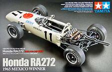 KIT TAMIYA 1:20 AUTO HONDA RA 272 1965 MEXICO WINNER DECALS INCLUSE ART 20043
