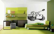 Wall Vinyl Sticker Decals Kids Room Decor Mural War Tank #141