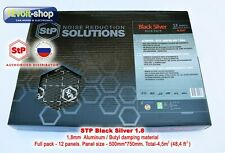 12 sheets (4.5sq-m) Full Pack of STP Silver 1.8mm Car Vibro Insulation Material