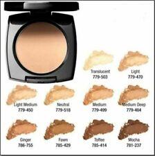 Avon True Color Flawless Mattifying Pressed Powder Foundation Medium Deep(G203)