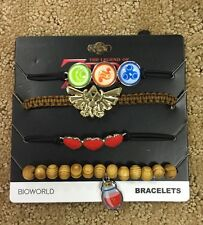 The Legend Of Zelda Arm Party Bracelet Set Gift New With Tags!