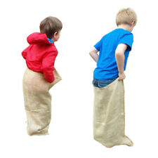 YUZET 5 x CHILDREN KIDS HESSIAN SACK RACE SPORTS DAY RACING SACKS 50cm x 80cm