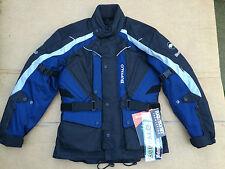 """BUFFALO 'ROCKET' Mens Textile Motorbike Motorcycle Jacket UK  38"""" Chest    J21"""