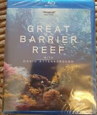 David Attenborough Great Barrier Reef [Blu-ray]      Brand new and sealed