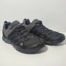 Adidas AX2 Traxion Size 10 Men's Black Hiking Trail Running Shoes D67192 Sneaker
