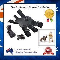 Fetch Dog Harness Mount for GoPro Hero 6 / 5 / 4 Sessions + J-Hook & Clip Mount