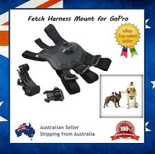 Fetch Dog Harness Mount for GoPro Hero 5 / 4 / 3 Sessions + J-Hook & Clip Mount