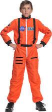 Morris Costumes Boys Astronaut Orange Child 6-8. UR26981MD