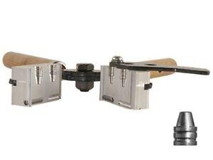 Lee Double Cavity Mold 90316 358-105-SWC 38 Sp,357 Mag (358 Diameter) 105 Grain