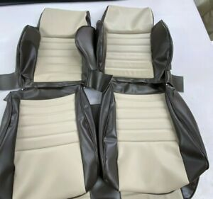 1986-1995 suzuki samurai jx front seat upholstery covers